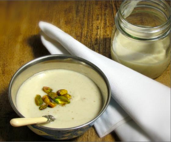 #homemade coconut yogurt