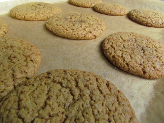 Baking Cardamom Cookies