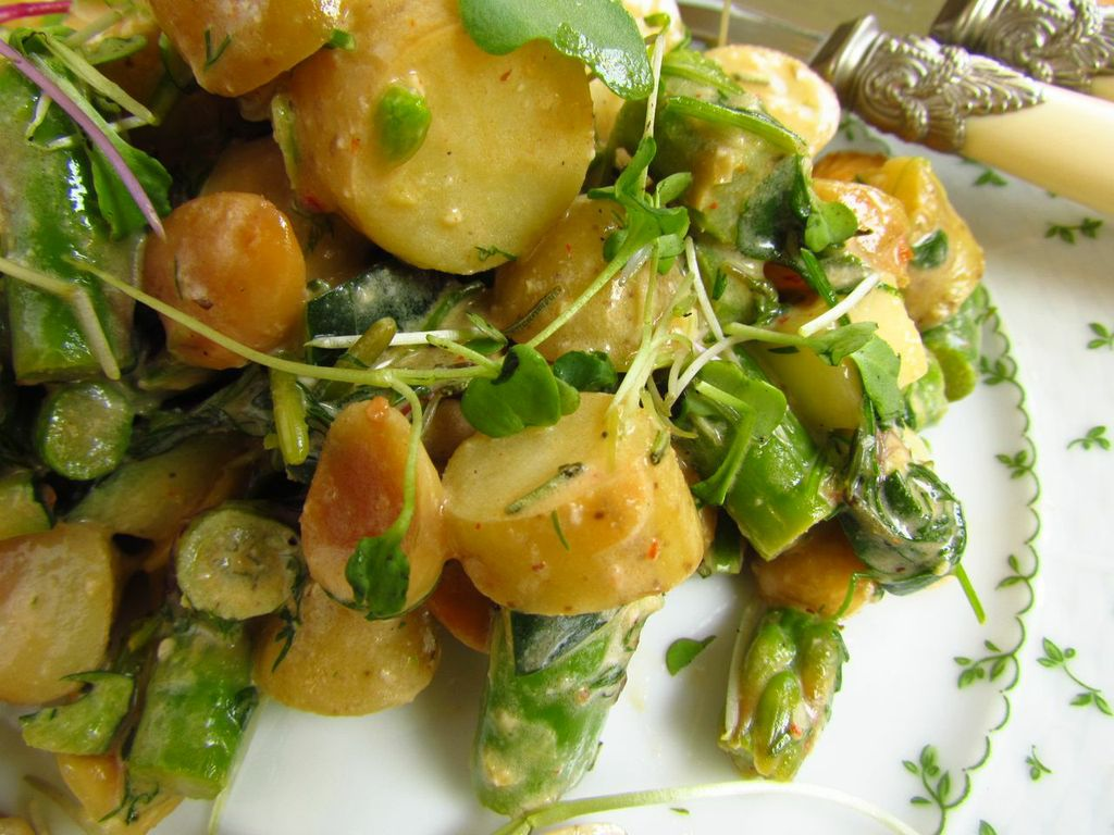 Spring Salad With New Potatoes Recipes — Dishmaps