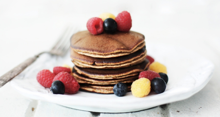 Banana & Almond Meal Pancakes from Roost