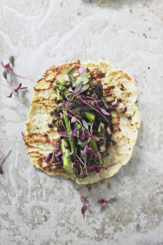 Veggie Tacos with Cauliflower Tortillas