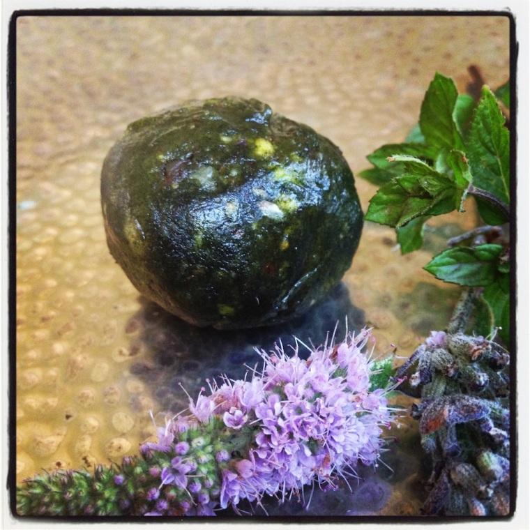 #raw Green Pistachio Truffles