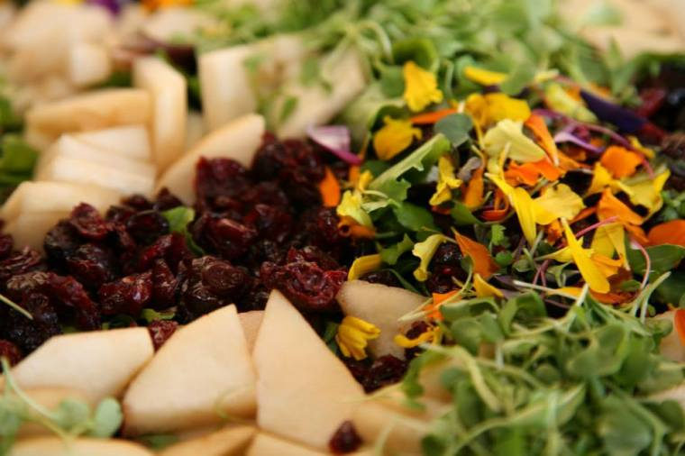 #Edible Flower Salad