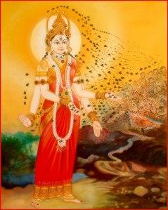 Bhramari Devi, Goddess of Bees