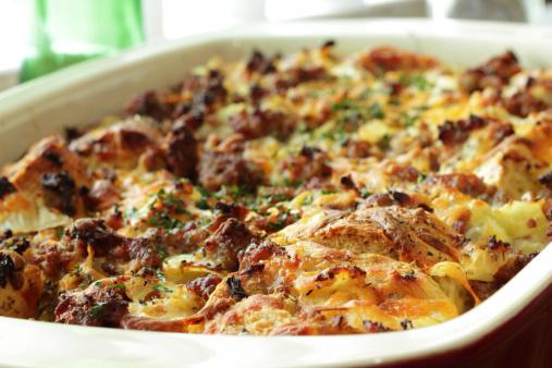 Savory Breakfast casserole