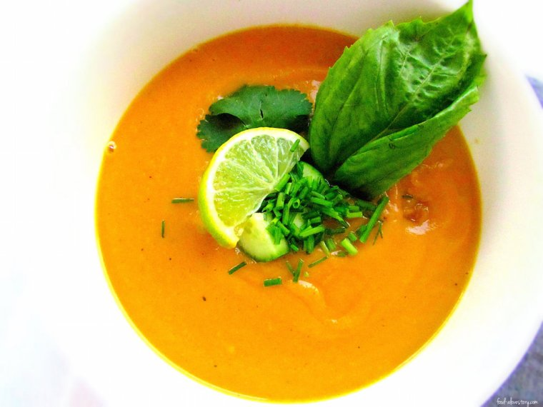 coconut curry sweet potato soup