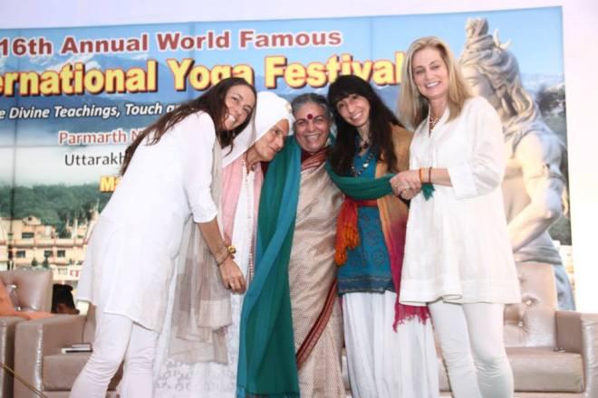 With Vandana Shiva