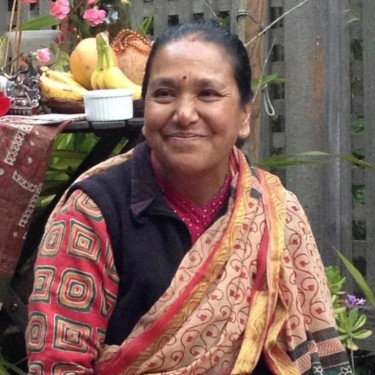Dr. Sarita Shrestha in Nepal