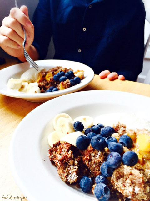 cobbler breakfast for Mo