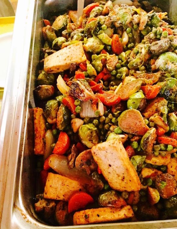 veggie tofu roast