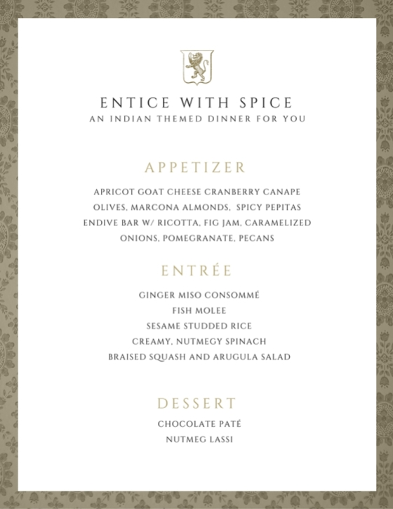 Entice with Spice
