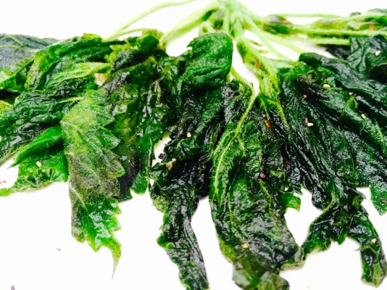 how to cook nettles