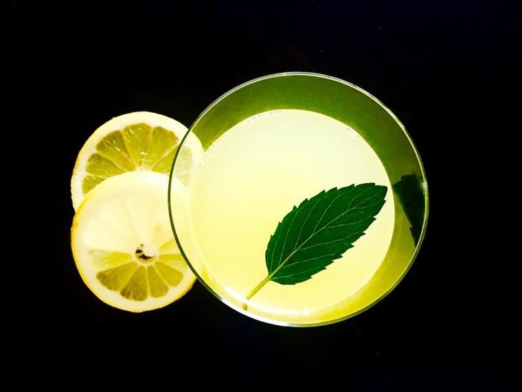 lemon wellness tonic